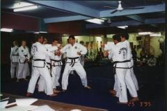 2nd dan grading 1995