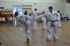 Black Belt Grading Side kick